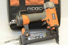 RIDGID TOOLS R150FSE 18-Gauge 1-1/2 in. Finish Stapler PSI MIN 70 MAX W/CASE