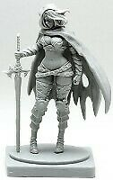 Pinup Twilight Knight Model for Kingdom Death Game Resin Figure Recast 30 mm
