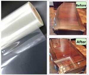 2mil Transparent Glossy Furniture Protective Film Table Wrap Vinyl Film Sticker