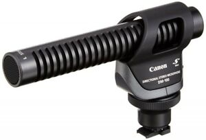 New Canon Directional Stereo Microphone DM-100 For iVIS HF10/HF100 With Tracking