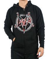 SLAYER South Of Heaven Zip Hoody Sweatshirt Brand New Authentic Rock Metal S-2XL