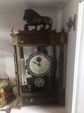 Vintage Sperical Weight Rolling Ball Clock Mystery Clock.