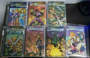 SIGNED Gold Digger Edge Guard #1-7 Comics Radio Comix 2000-2001