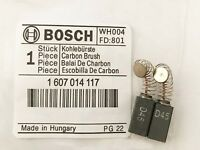 Genuine Carbon Brushes 1607014117  for Bosch GEX 125 150 AC AVE &  PKS 46 BS4G