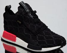 adidas Originals NMD TS1 Primeknit GTX Mens Black Casual Boost Sneakers BD8078