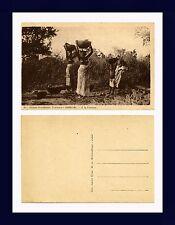 AFRIQUE OCCIDENTALE FRANÇAISE SÉNÉGAL A LA FONTAINE POSTCARD CIRCA 1920