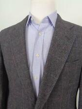 Hart Schaffner & Marx Tweed Blazer Wool Sport Coat Mens sz 42R Jacket *Flaw