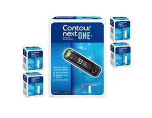 Ascensia Bayer Contour Next ONE Meter [+] NEXT 200 Test Strips For GLucose Care