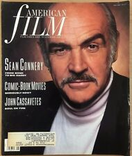 AMERICAN FILM Magazine May 1989 Sean Connery, Comic Book Movies