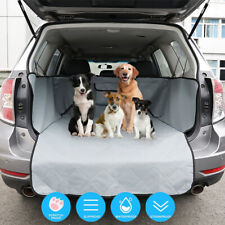 Pet Dog Car Suv Seat Cover Quilted Rear Back Trunk Waterproof Travel Protect Mat