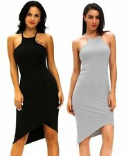 Stretch, Bodycon Casual Solid Dresses for Women