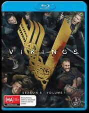 Vikings : Season 5 : Part 1 (Blu-ray, 2018, 3-Disc Set)