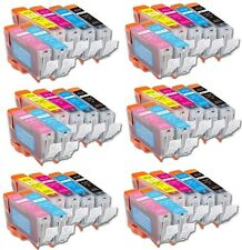 36P Quality Ink Set + Chip for Canon CLI-8 Pixma iP6600D iP6700