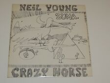 NEIL YOUNG WITH CRAZY HORSE zuma Lp RECORD REISSUE MS-2242