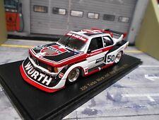 BMW 320 Turbo taille 5 DRM Norisring #50 Winkelhock A Würth Champion Spark 1:43