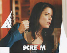NEVE CAMPBELL Signed 10x8 Photo SCREAM & WILD THINGS COA