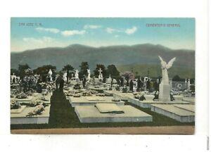 c1910 PC: Cementerio Général (General Cemetery) – San Jose, Costa Rica