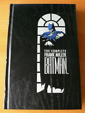 The Complete Frank Miller Batman. Hardcover Leather Bound 1st Edition. Mint