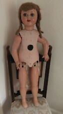 Antique tall jointed doll walking style doll sleeping eyes ideal display  doll