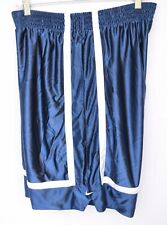 Nike Basketball Shorts Men's Size XL Blue White