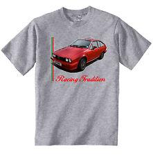 Alfa Romeo Alfetta GTV6 Inspirado Camiseta De Algodón Gris-Nuevo-todos Los Tamaños En Stock