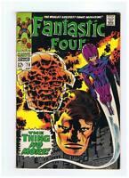 Marvel Comics Fantastic Four #78 VG/F- 1968