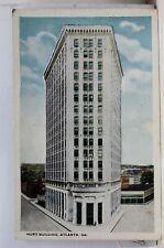 Georgia GA Atlanta Hurt Building Postcard Old Vintage Card View Standard Post PC