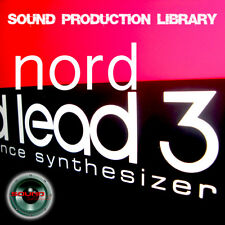 Nord Lead 3 - Large Original WAV/Kontakt Multi-Layer Studio Samples Library DVD