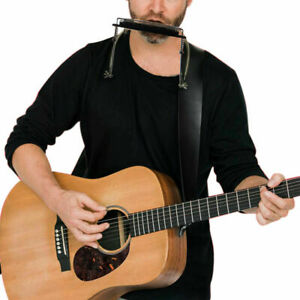 Silenceban Harmonica Neck Holder Adjustable Mouth Organ Rack Mount Stand