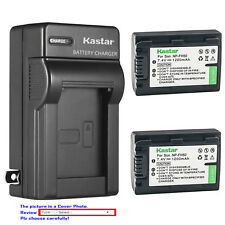 Kastar Battery Wall Charger for Sony NP-FH30 NP-FH50 NP-FH70 NP-FH100 AC-VQH10