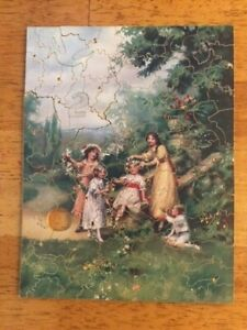 Pastime Wooden Jigsaw 1930's