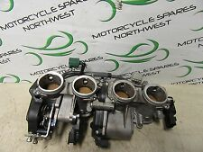 YAMAHA R1 YZF-R1 2008 4C8 THROTTLE BODY COMPLETE WITH TPS & INJECTORS BK222