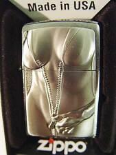 Zippo® Zippo Zipper Girl Woman Sexy Girl emblem platte New / Neu OVP