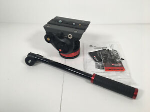 "Manfrotto MVH502AH Pro Video Head with Flat Base (3/8""-16 Connection)"