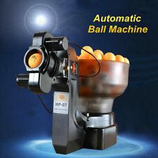 HP-07 Máquina de pelota de tenis de mesa ejercitador de lanzador de ping pong