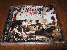 """HOLOCAUSTA CANIBAL """"Visceral..."""" CD macabre necrophagia"""