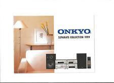Onkyo Katalog System SE-F11  R31 C41 C31 M21 ED-205 D-205F MD-185/105X/121 TOPP!