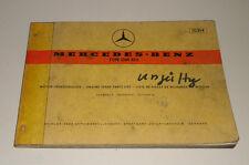Teilekatalog Mercedes Benz LKW Typ OM 615 Motor Stand 07/1973 Ausgabe D