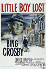 Little boy lost Bing Crosby vintage movie poster