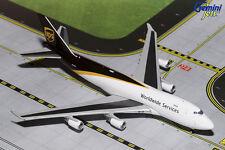 GEMINI JETS UPS BOEING 747-400 NEW LIVERY 1:400 DIECAST MODEL AIRPLANE GJUPS1571