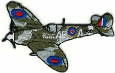 Royal Air Force RAF Spitfire Allied Fighter Plane Patch