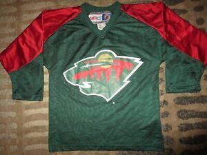 Marion Gaborik #10 Minnesota Wild NHL Ice Hockey CCM Jersey Youth S/M M 10-12