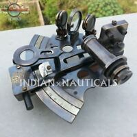 Antique Marine SEXTANT Solid Brass Collectible Nautical Brass Working German