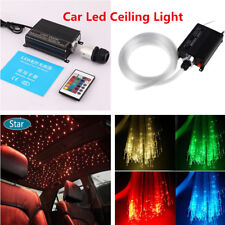 Car Fiber Optic RGBW PMMA Fiber LED DIY Optical Star Ceiling Kit Light 300pcs*2M