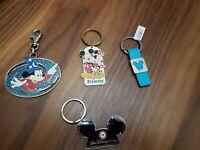 Lot 4 pc keychain Walt Disney World Keychain Mickey Mouse Princess/ love my dog