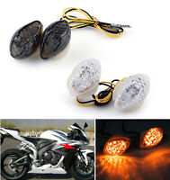 Bright LED Flush mount Turn Signals For Honda CBR600/1000RR F4/i CBR900/929 AT1