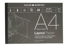DALER ROWNEY LAYOUT PAPER - A4 (45gsm)