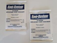 2 PACK PRO PRODUCTS WS Sani-System Water Softener Liquid Sanitizer SANISYSTEM