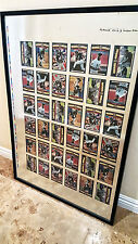 Michael Jordan 1994 Upper Deck Baseball Cards Uncut Printer's Sheet series of 5