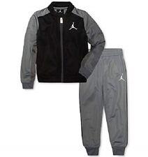 Jordan Jumpman Little Boys 2 Pc Cool Grey Jacket Pants Set Size 7 NWT